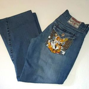 True Religion Joey Mens Vintage Jeans